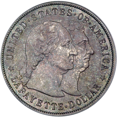 Монета lafayette dollar хуан грис
