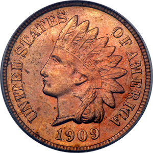1901 Indian Cent MS64RD PCGS